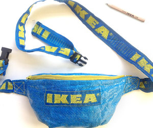upcycling, ikea, and fanny pack image