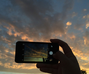bright, clouds, and colourful image