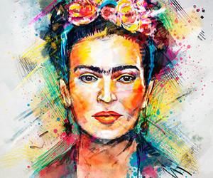 art, watercolor, and watercolor portrait image