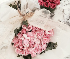 Fleurs, flowers, and roses image