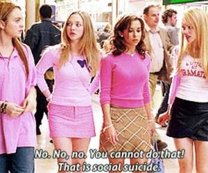 girls, lindsay lohan, and pink image
