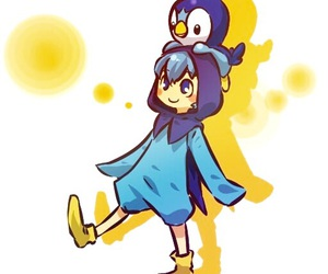 Piplup, pokemon, and anime image
