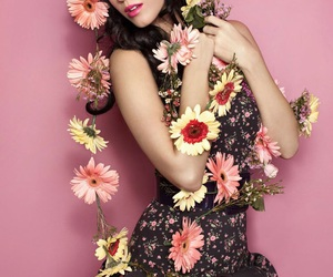 katy perry and flowers image