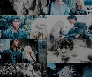 the hundred, clarke griffin, and bellamy blake image