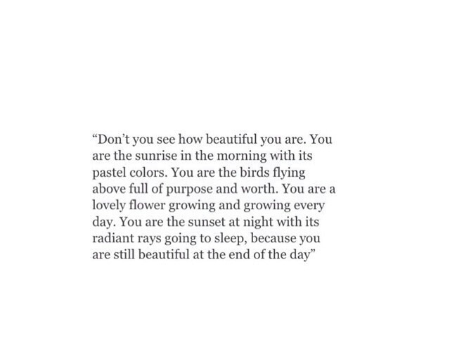 You are worth so much more than you think on We Heart It