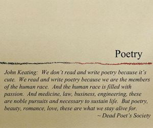 dead poets society, poetry, and mr keating image