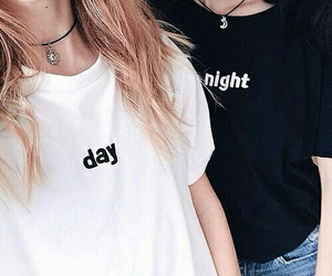 night, day, and friends image