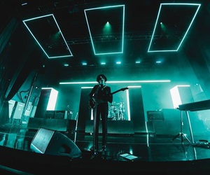 the 1975, blue, and glow image