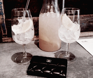 drink, chanel, and tumblr image