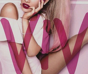 babes, pink, and viva glam image