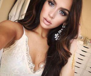blue eyes, gorgeous, and fashion image