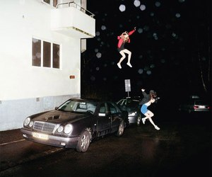 girl, jump, and crazy image
