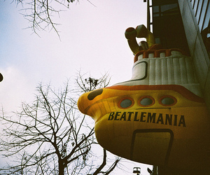 the beatles, yellow submarine, and photography image