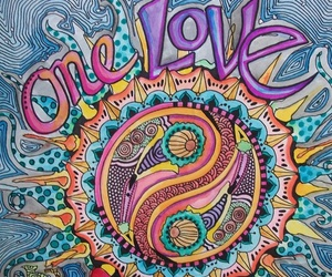 bob marley, groovy, and one love image