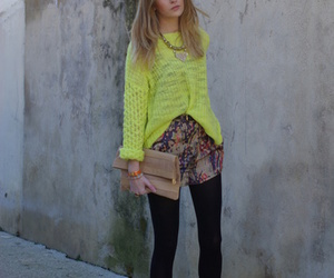 clothes, clutch, and girl image