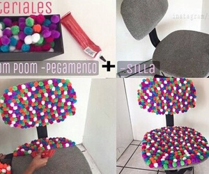 diy, room, and chair image