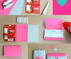 diy, chocolate, and gift image