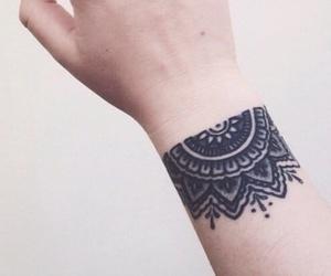 Tattoos and black image