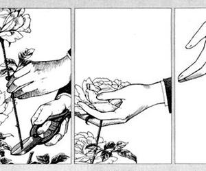 anime, hand, and illustration image