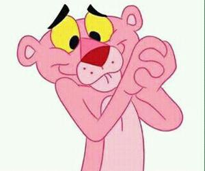 pink and pantera rosa image