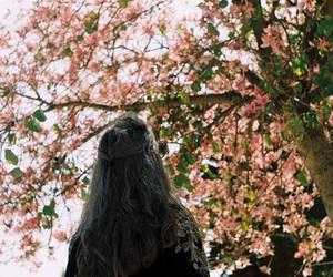 girl, grunge, and nature image
