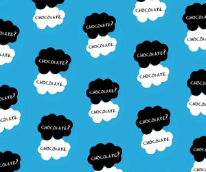 background, chocolate, and john green image