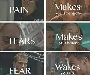 divergent, christina, and four image