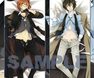 anime, chuuya, and bungo stray dogs image