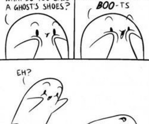 funny, ghost, and boo image