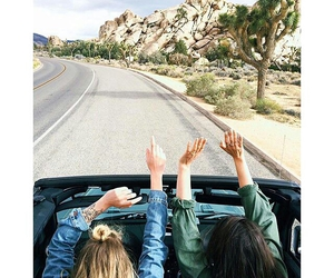 adventure, car, and friendship image