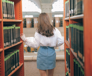 girl and book image