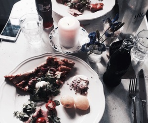 drinks, food, and yum image