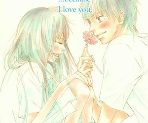 kimi ni todoke, love, and manga image
