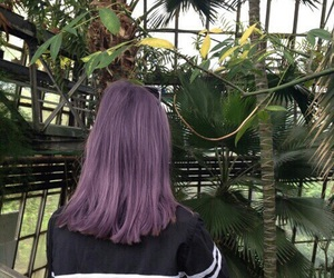 girl, grunge, and plants image