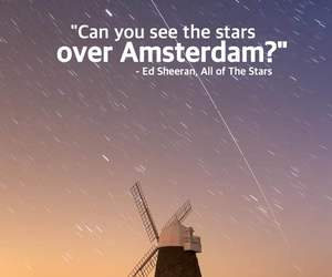 amsterdam, quote, and sky image