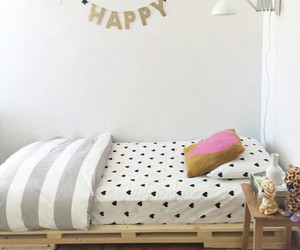 bedroom, black, and decorations image