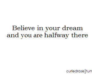 believe, black and white, and Dream image
