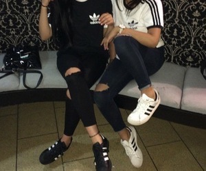 adidas, friends, and tumblr image
