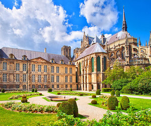 bright, castle, and french image