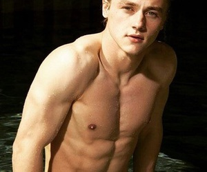 hot boy, muscle, and ben hardy image