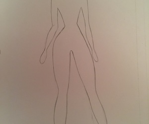 art, body, and model image