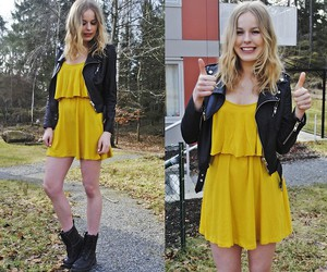 blonde, clothes, and fashion image