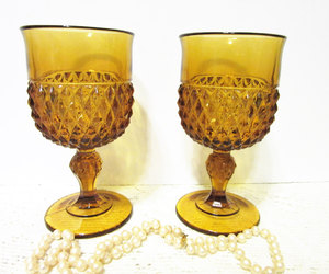 wine glasses, etsy, and early american image