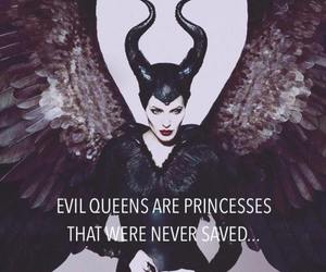 maleficent, disney, and evil image