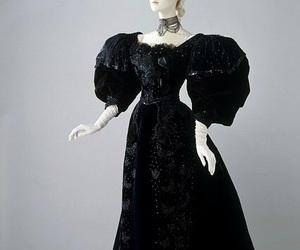 black dress, history, and 19c image