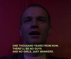 trainspotting, ewan mcgregor, and quotes image