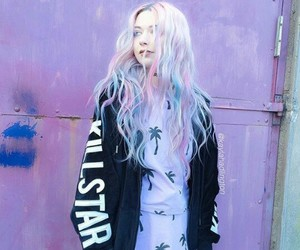 fashion, colors, and hair image