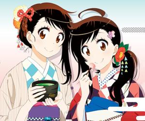 anime, manga, and nisekoi image