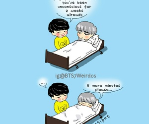 fanart, funny, and kpop image