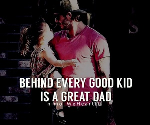 father, kid, and love image